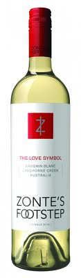 Zonte's Footstep The Love Symbol 2010 Savignin Blanc Langhorne Creek Australia 750ml - Label