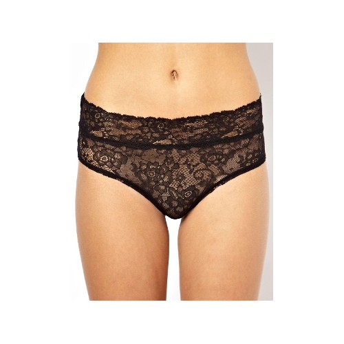 Leaf Lace Hipster Brief