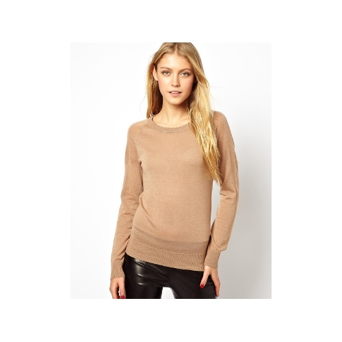 Costa Knitted Jumper in Merino Wool