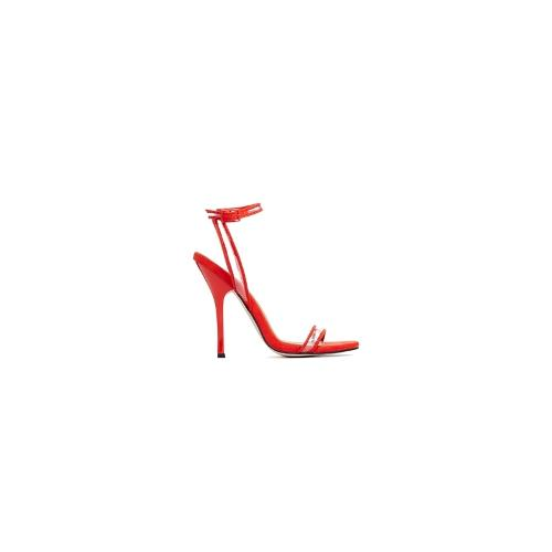 ASOS HELLO YOU Heeled Sandals - Red
