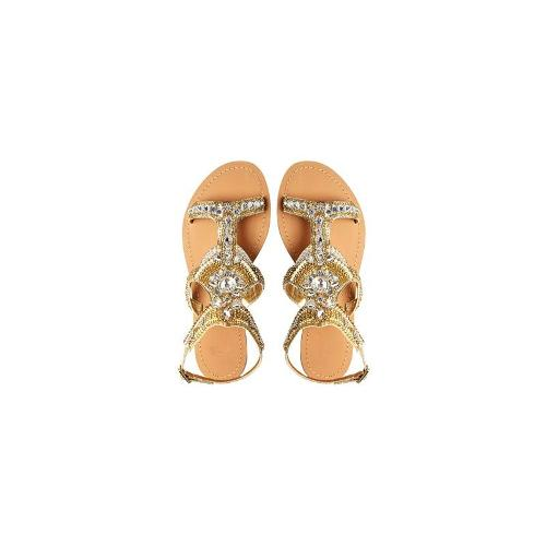 ASOS FLORIDA KEYS Flat Sandals - Nude