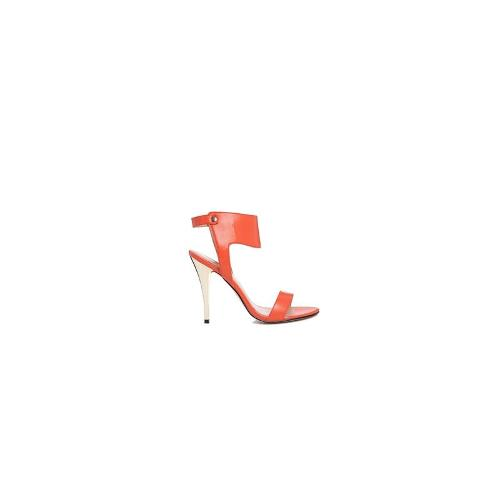 Carvela Jessica Ankle Cuff Heeled Sandals - Orange