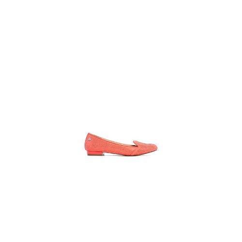 Blink Red Flat Loafers