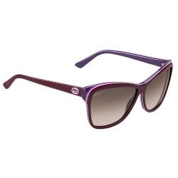 Gucci 3191 745/K8 sunglasses (size 60mm) : Plum / Violet
