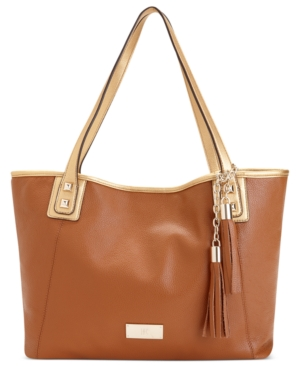 INC Handbag, Peyton Leather Tote