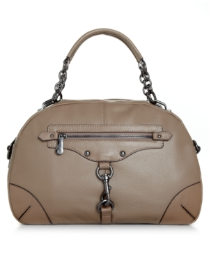INC International Concepts Handbag, Gabrielle Leather Satchel