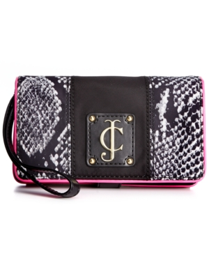 Juicy Couture Handbag, Penny Nylon Tech Wristlet