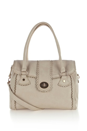 Scallop Shoulder Bag