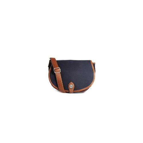 Fred Perry Cross Body Bag in Waxed Cotton