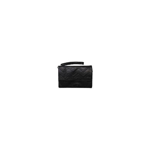 Rusty Purses - New Rusty Much Clutch Leather Accessories Black Size One Size
