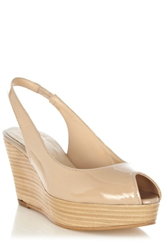 Polly Leather Slingback