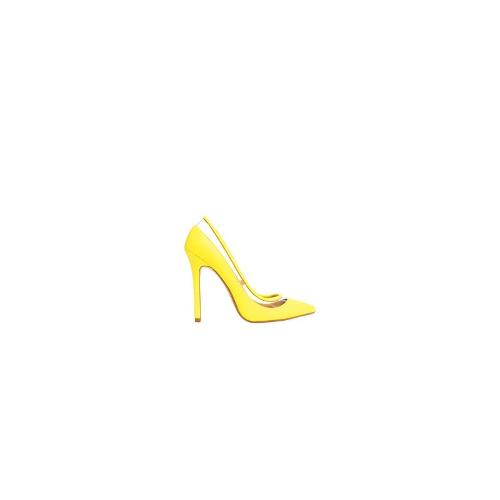 ASOS PLAYBACK Pointed High Heels - Yellow