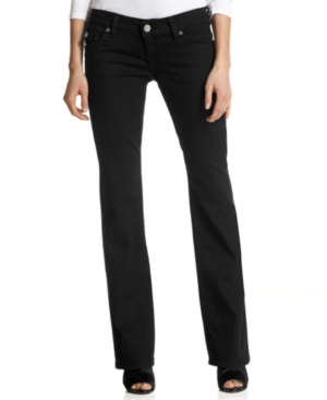 Kut from the Kloth Jeans, Kate Bootcut-Leg, Black Wash