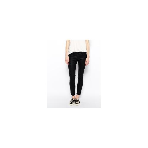 Blank NYC Coated Navy Skinny Jeans