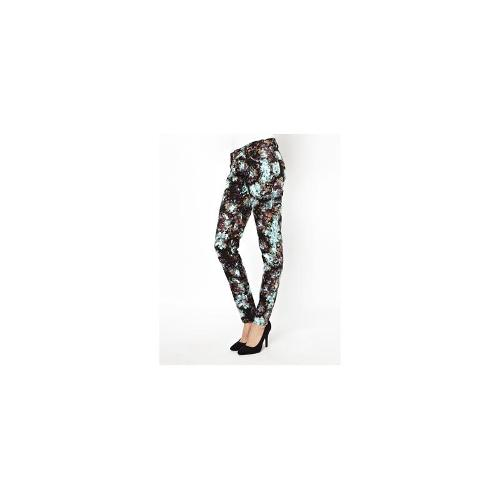 BCBGeneration Jeans in Blot Print