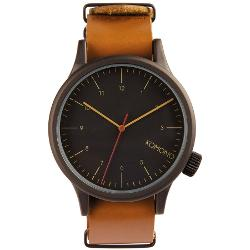 Komono Mens Watches Leather Watches - The Magnus Watch By Komono
