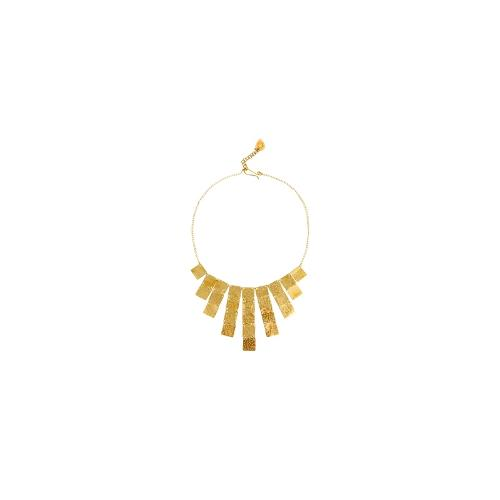 Made Chomani Graduated Necklace - Gold