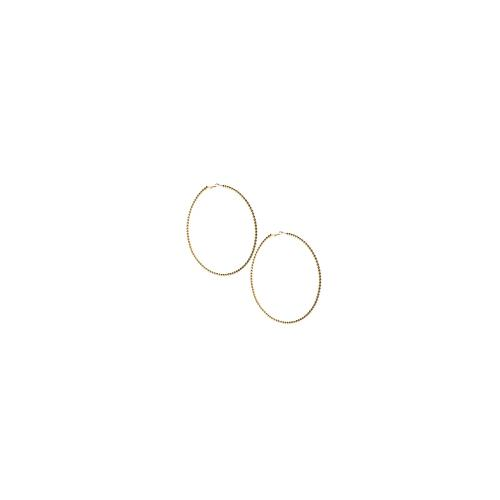 ASOS Rope Hoop Earrings - Gold
