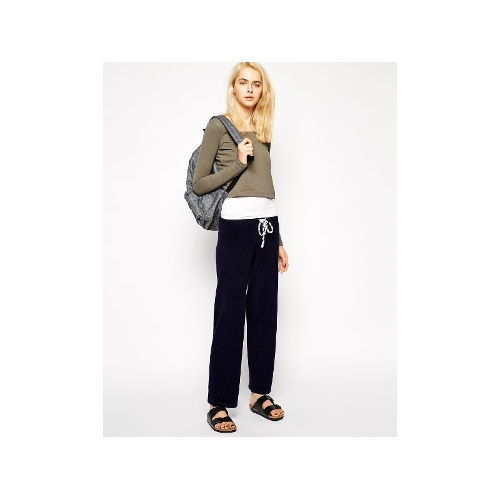 Track Pants With Contrast Cord
