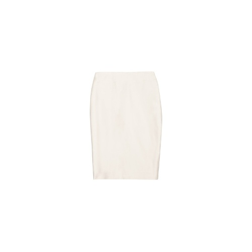 No. 2 stretch cotton-twill pencil skirt