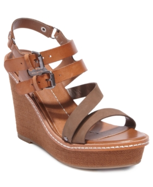 DV by Dolce Vita Shoes, Jobin Platform Wedge Sandals Women's Shoes