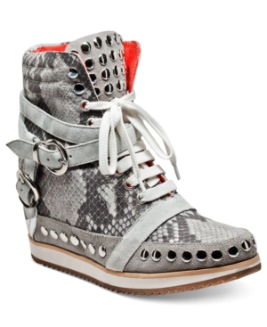 Modern Vice Shoes, Cindi Wedge Sneakers Women's Shoes