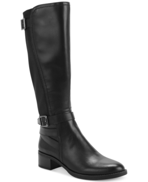 Franco Sarto Boots, Celine Tall Stretch Back Boots Women's Shoes