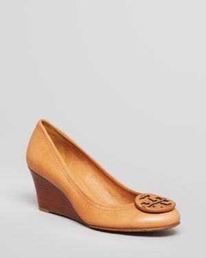 Tory Burch Wedge Pumps - Sally Closed Toe
