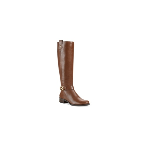 MICHAEL Michael Kors Boots, Charm Wide Calf Riding Boots Women's Shoes