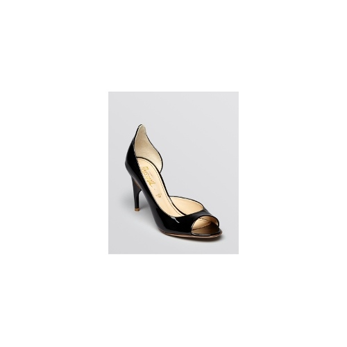 Jerome C. Rousseau Open Toe D'Orsay Pumps - Sweet High Heel