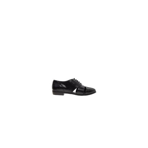 ASOS MANHANDLE Lace Up Shoes - Black