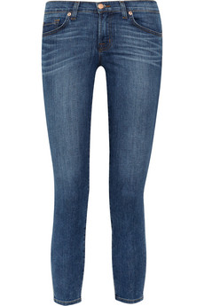 851 cropped mid-rise skinny jeans