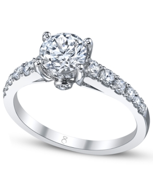 My Diamond Story Ring, 18k White Gold Certified Diamond Engagement Ring (1 ct. t.w.)