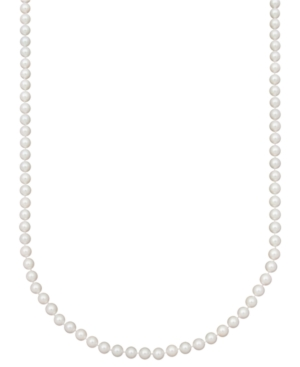 "Belle de Mer Pearl Necklace, 20"" 14k Gold AA Akoya Cultured Pearl Strand (6-6-1/2mm)"
