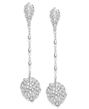 The Fifth Season By Roberto Coin 18k White Gold over Sterling Silver Earrings, Stringray Drop Earrings