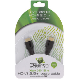 3rd Earth Xbox 360 Elite HDMI 2.5m Basic Cable