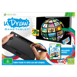 Xbox 360 uDRAW GameTablet and Instant Artist