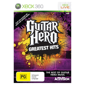 Xbox 360 Guitar Hero: Greatest Hits