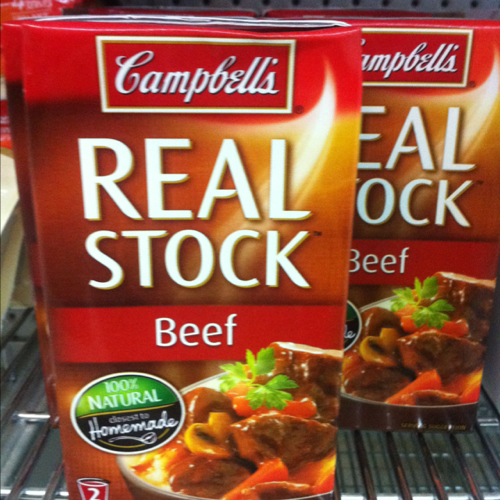 Campbells Real Stock Beef