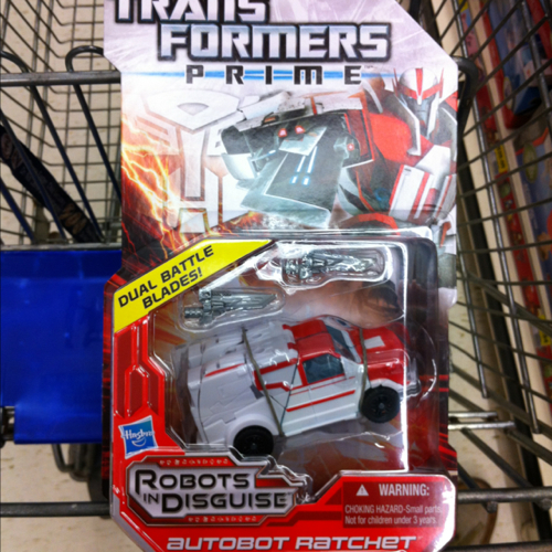 Transformers Prime Deluxe Class Autobot Ratchet