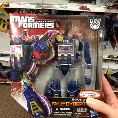 Transformers Fall of Cybertron Soundwave