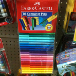 FABER CASTELL 11-300-A CONNECTOR PENS 30'S:1 PACK