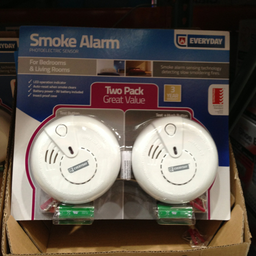 Everyday Smoke Alarm Photoelectric 2 Pack