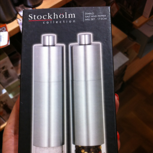 Avanti Stockholm collection salt and pepper grinders