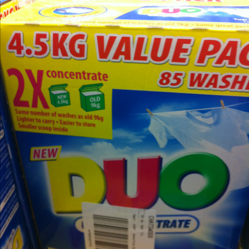 DUO top loader laundry 4.5kg