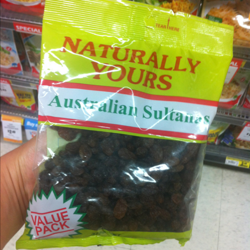 Naturally Yours Sultanas