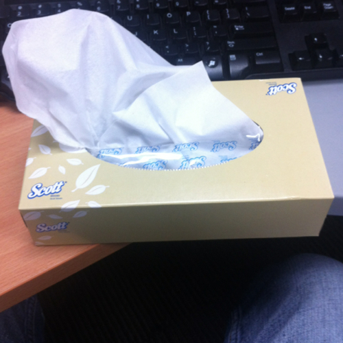 Scott facial tissues