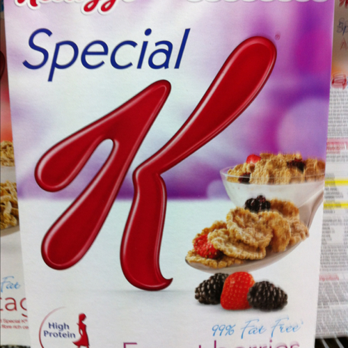 Kelloggs Cereal Special K Forest Berries