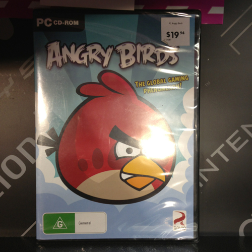 Angry Birds Game: PC CD-ROM