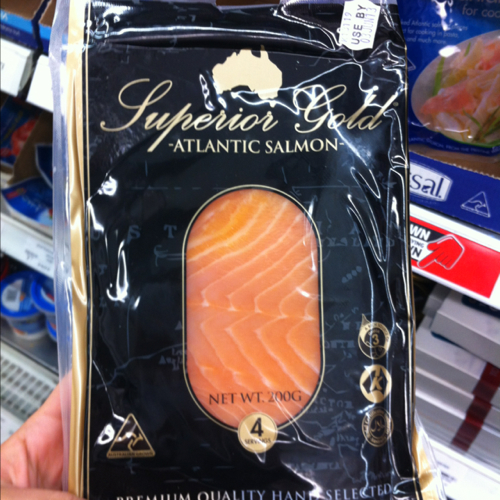 Superior Gold Atlantic Smoked Salmon 200g